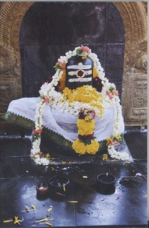 Shiva Lingam in Bargur Temple
