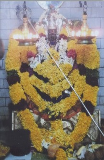 Shanta Kaliamman Temple (Sharada Ma's Grandmother's Temple in Bargur, India)