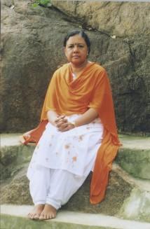 At Skandashramam, Tiru, India