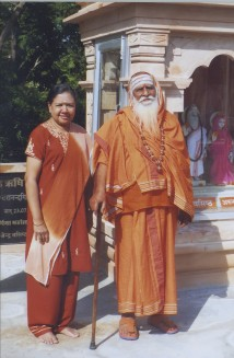 Sharada Ma's first Guru, Swamiji Iswarananda Giri