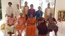 First Satsang in Chidakash Hall, Tiruvannamalai