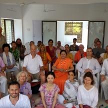 Last Satsang Feb 2017 Chidakash Hall, Tiruvannamalai